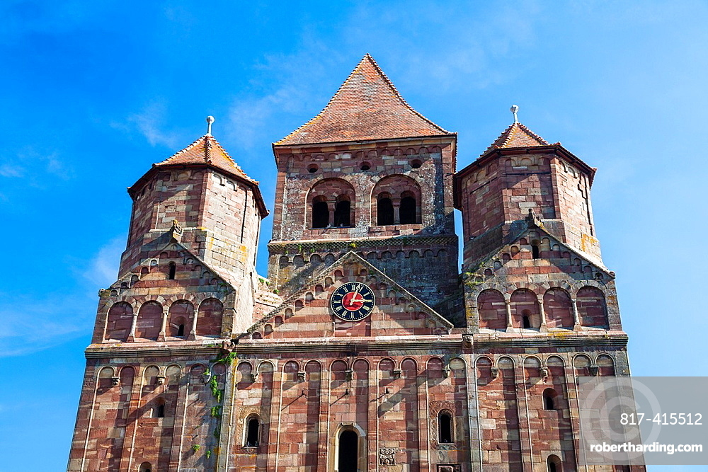 The historic abbey of Marmoutier, Alsace, France, Europe