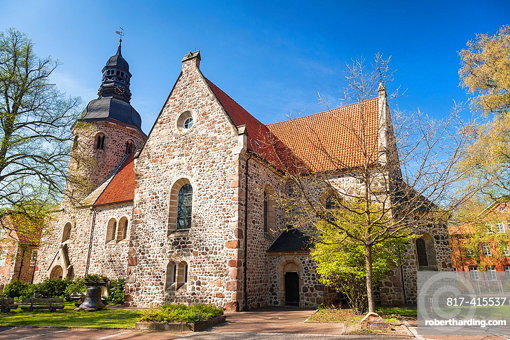 Church of St. Viti monastery in Zeven, Lower Saxony, Germany, Europe
