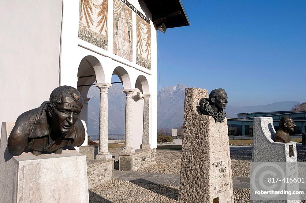 Madonna del Ghisallo sanctuary, Magreglio Lombardy Italy