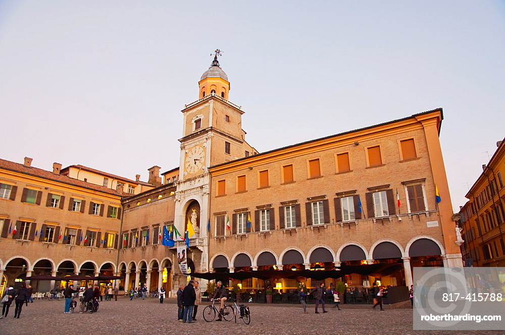 Palazzo Comunale at Piazza Grande square central Modena city Emilia-Romagna region central Italy Europe