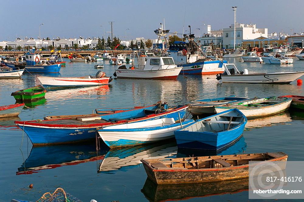 Fishing port, Isla Cristina, Huelva-province, Spain