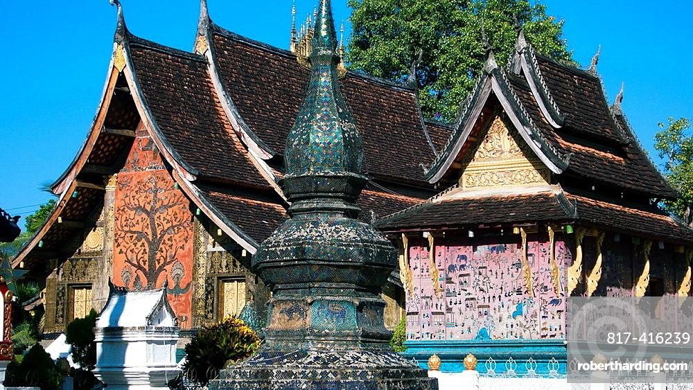 Xieng Thong Buddhist temple or wat Luang Prabang Laos
