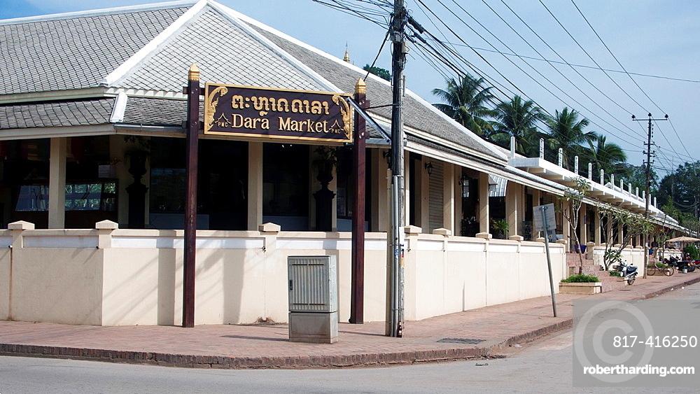 Dara Market new buildings Luang Prabang Laos PDR