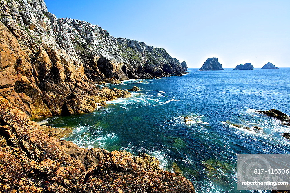 point of pen hir, Crozon peninsula, Finistere, Brittany, France