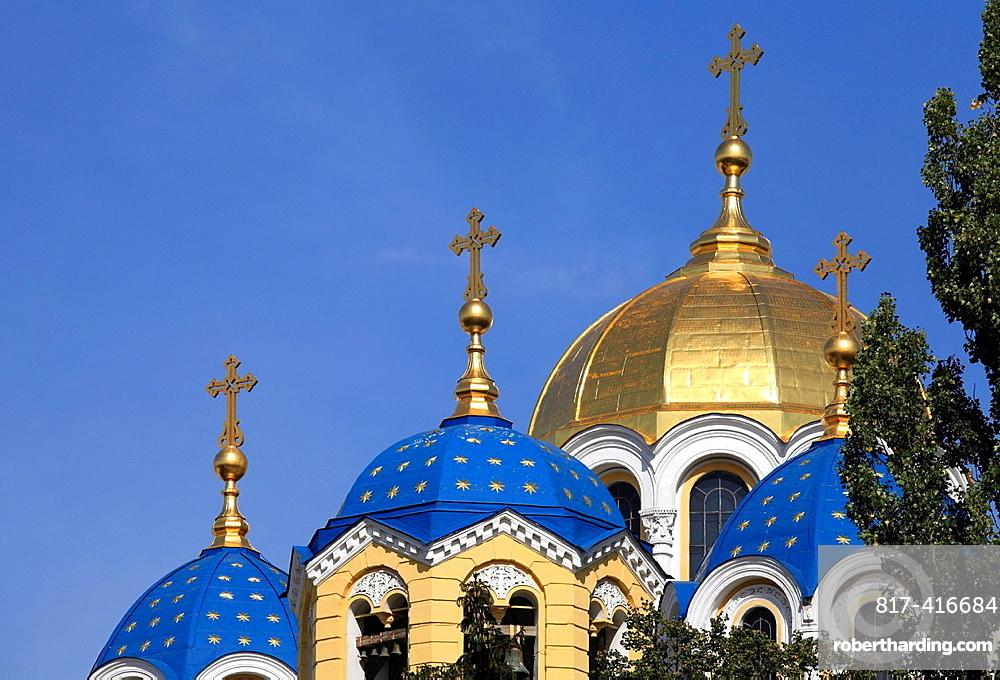 Ukraine, Kiev, Kyiv, St Volodymyrs Cathedral,