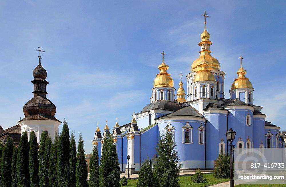 Ukraine, Kiev, Kyiv, St Michaels Cathedral,