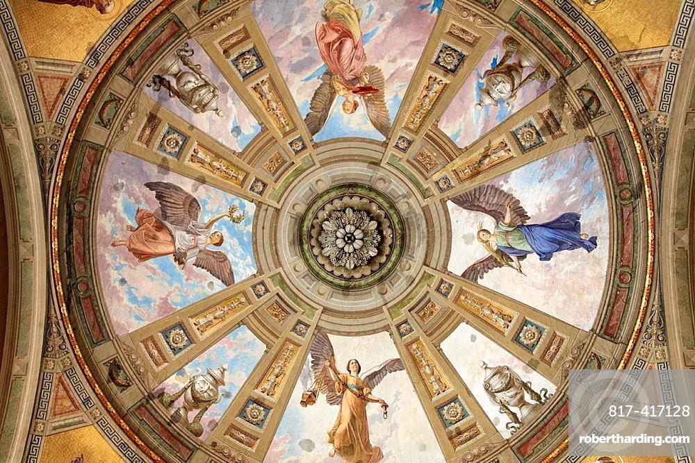 Hungary, Eger, Basilica, interior,
