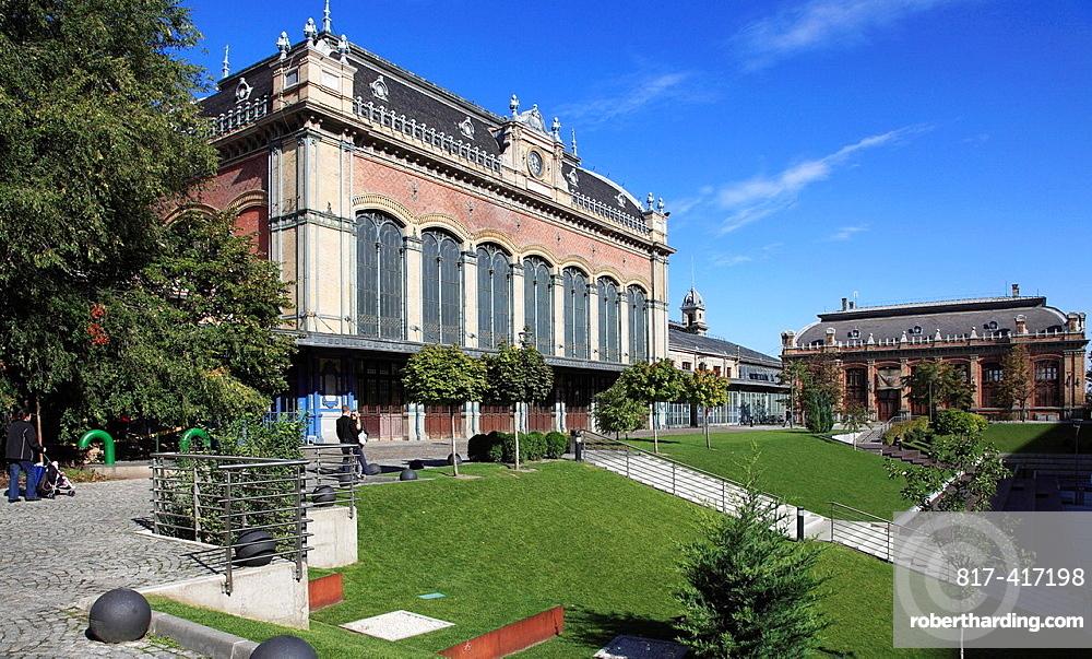 Hungary, Budapest, Nyugati Railway Station,