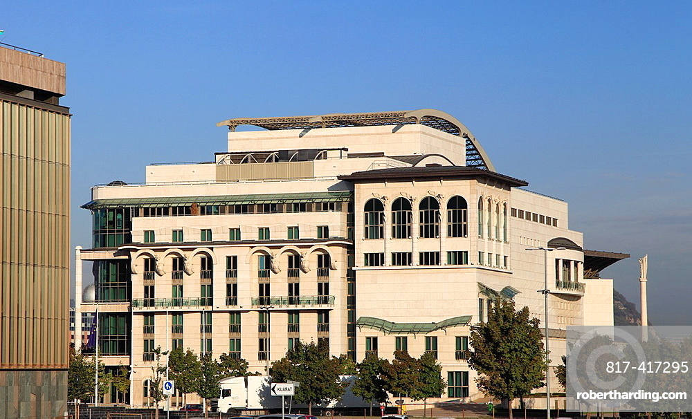 Hungary, Budapest, National Theatre,
