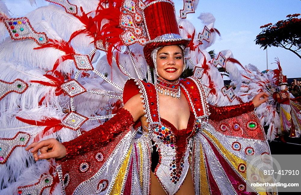 Carnival of Santa Cruz, Tenerife, Canary Islands, Atlantic Ocean
