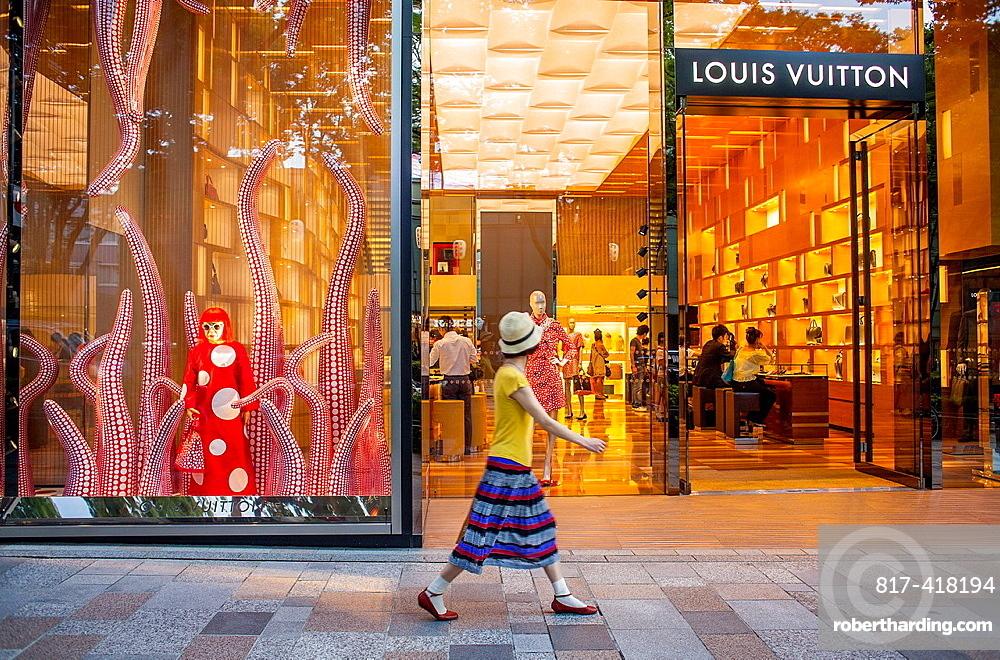 Louis Vuitton store by Jun Aoki, in Omotesando street  Tokyo  Japan