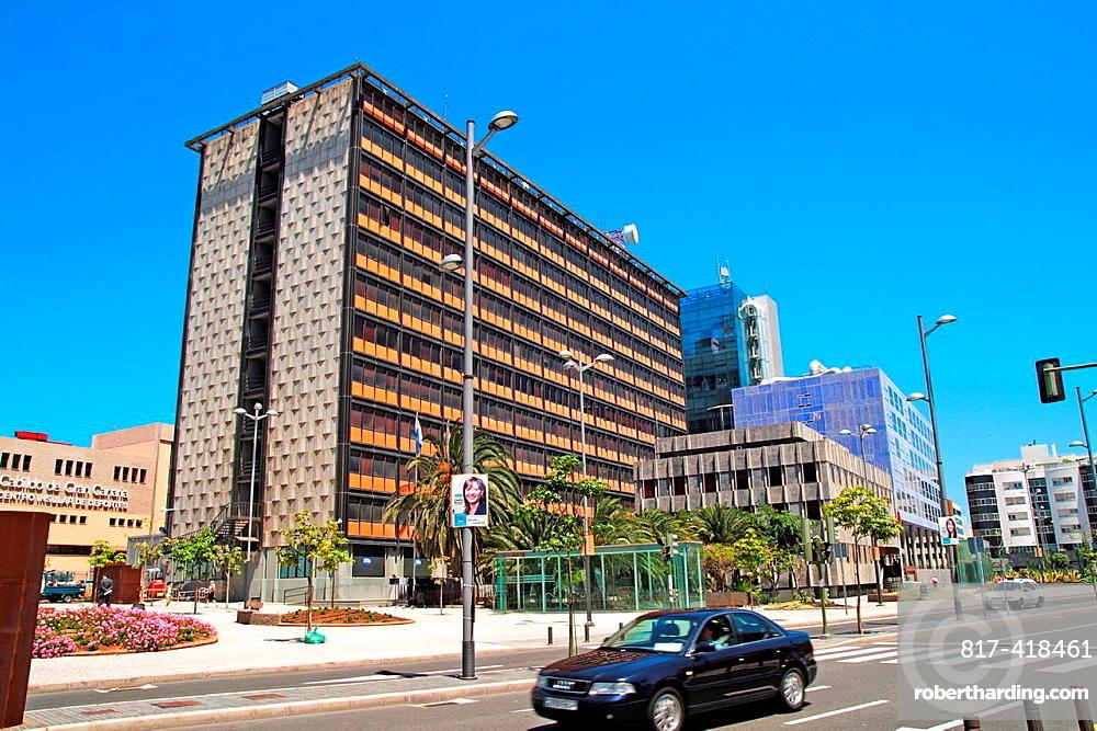 Las Palmas city centre stree view