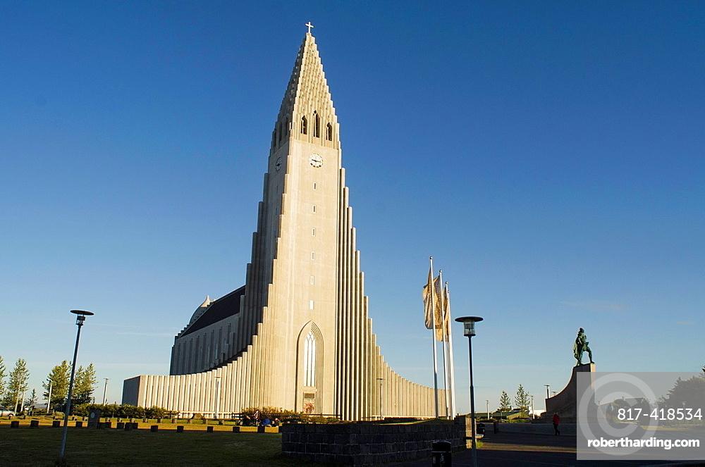 Reykjavik Hallgrimur Hallgrimskirkja Church, Iceland