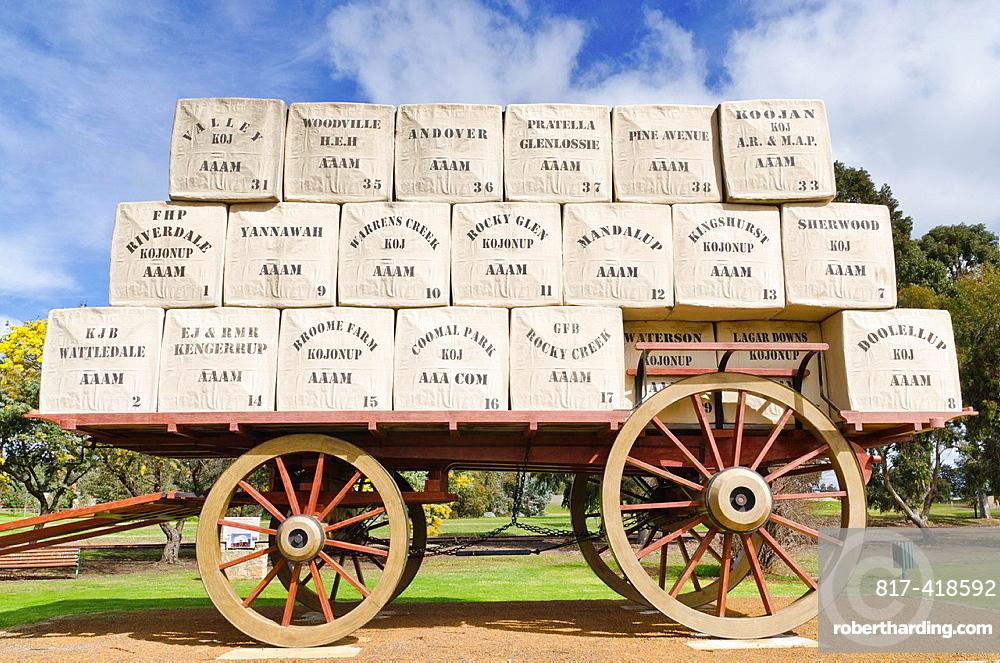 The Centenary of Federation Wool Wagon, Kojonup, Western Australia, Australia
