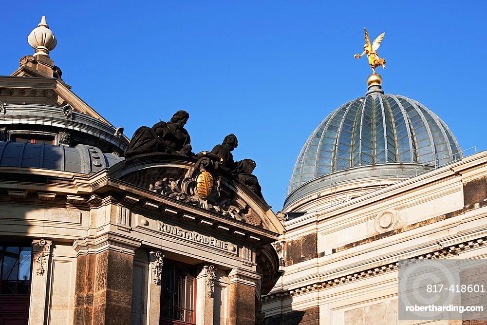 Kunstakademie, Academy Of Arts Dresden, Saxony, Germany