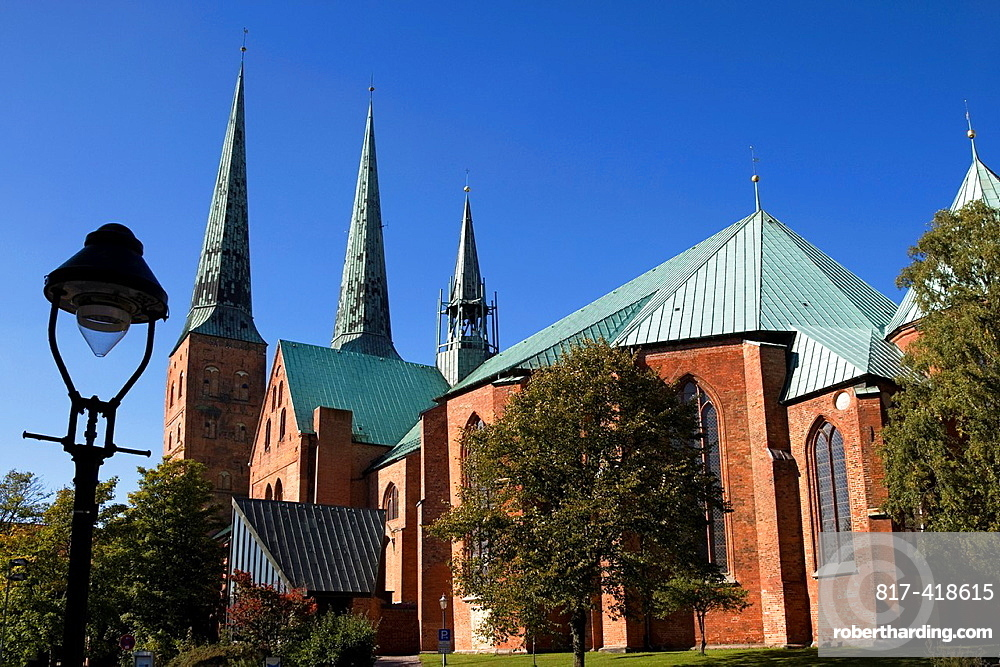 Luebecker Dom, Schleswig-Holstein, Germany