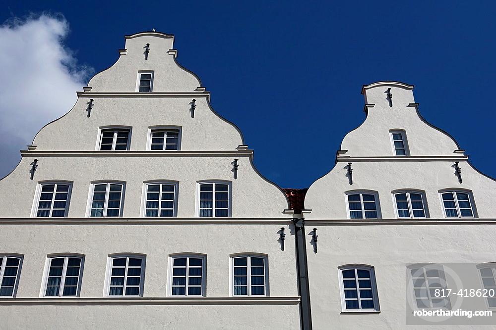 Giebel, Gable Luebeck, Schleswig-Holstein, Germany