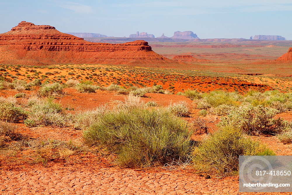 Valley of the Gods, near to Monument Valley, Utah, USA