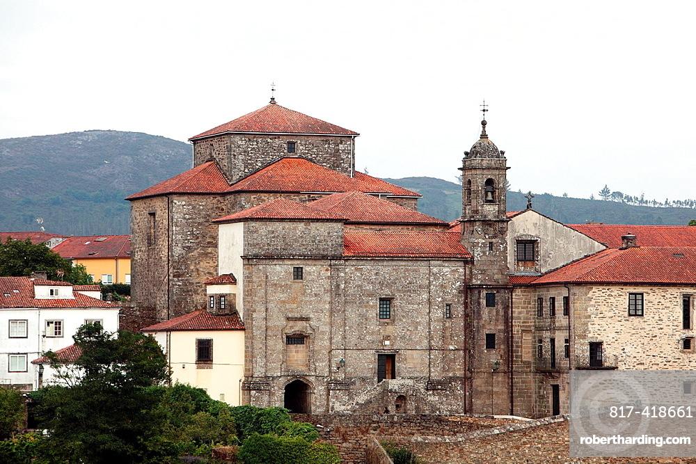 Albergue de los Peregrinos, Way of St. James, Santiago de Compostela, Galicia, Spain, Europe