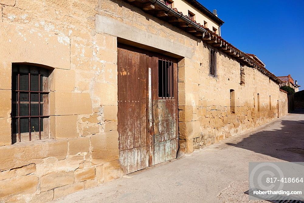 Street of Sajazarra, La Rioja, Spain