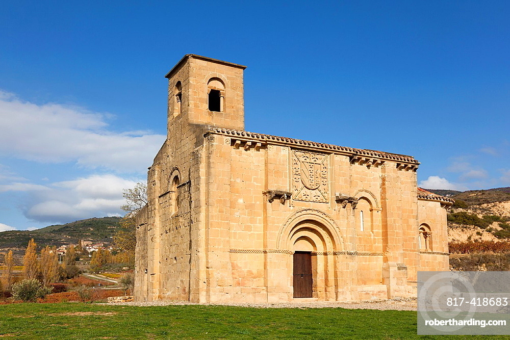 Church of Santa Maria de la Piscina, Pecina, La Sonsierra, La Rioja, Spain
