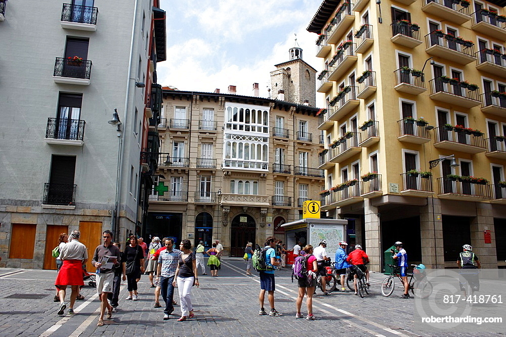 Place of the Town Hall, Pamplona, Navarra Navarre, Spain