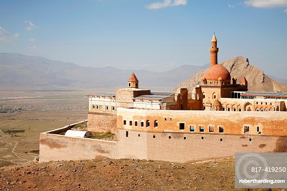 Ishak Pasa Palace, Dogubayazit, north-eastern Anatolia, Turkey, Asia