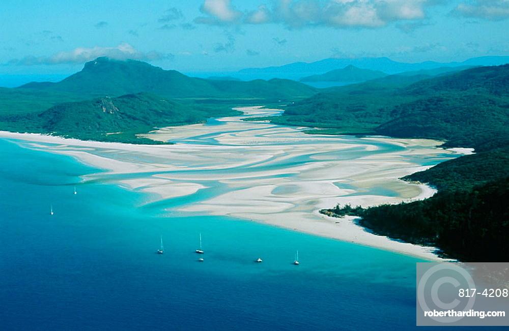Whitehaven Beach, White Sunday Island, Great Barrier Reef, Queensland, Australia