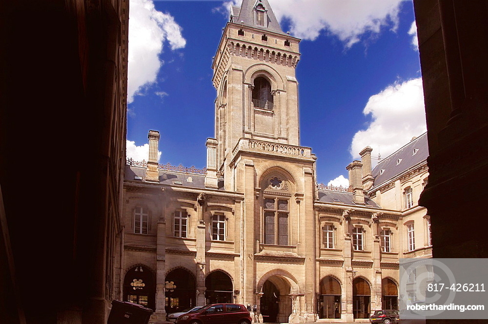 France-Poitou Charente- Charente- Townhall at Angouleme.
