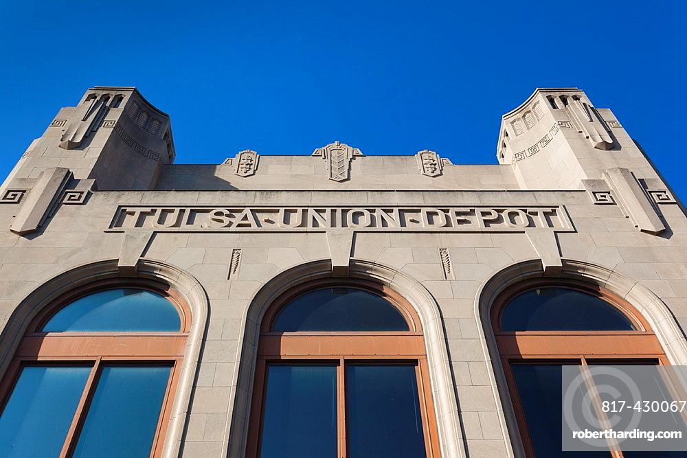USA, Oklahoma, Tulsa, Oklahoma Jazz Hall of Fame, in the former Tulsa Union Depot railroad station