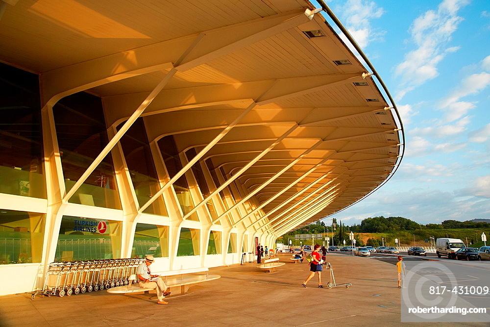 Outdoors, Loiu Airport, Bilbo-Bilbao, Biscay, Basque Country, Spain