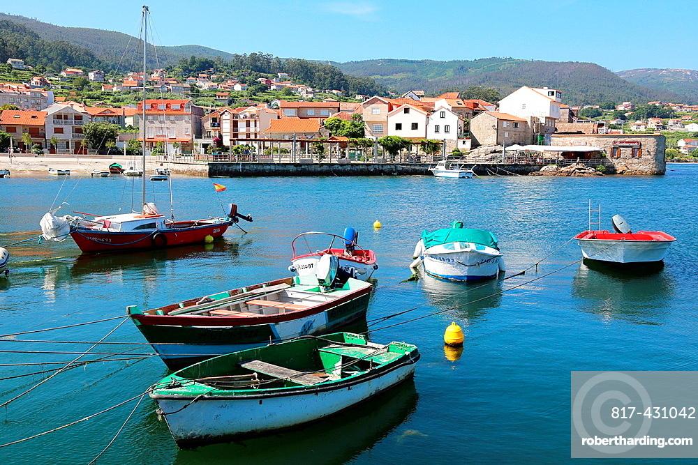 Marina, Combarro, Poio, Ria de Pontevedra, Pontevedra province, Galicia, Spain.