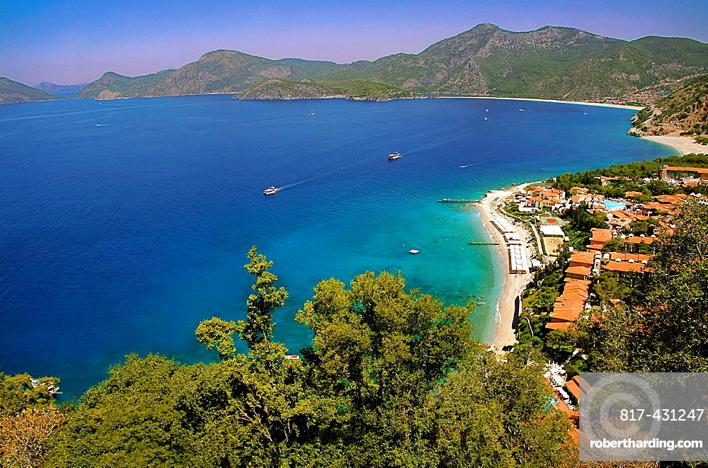 Turkey. tourist resort at Kiditak, by olu Deniz.