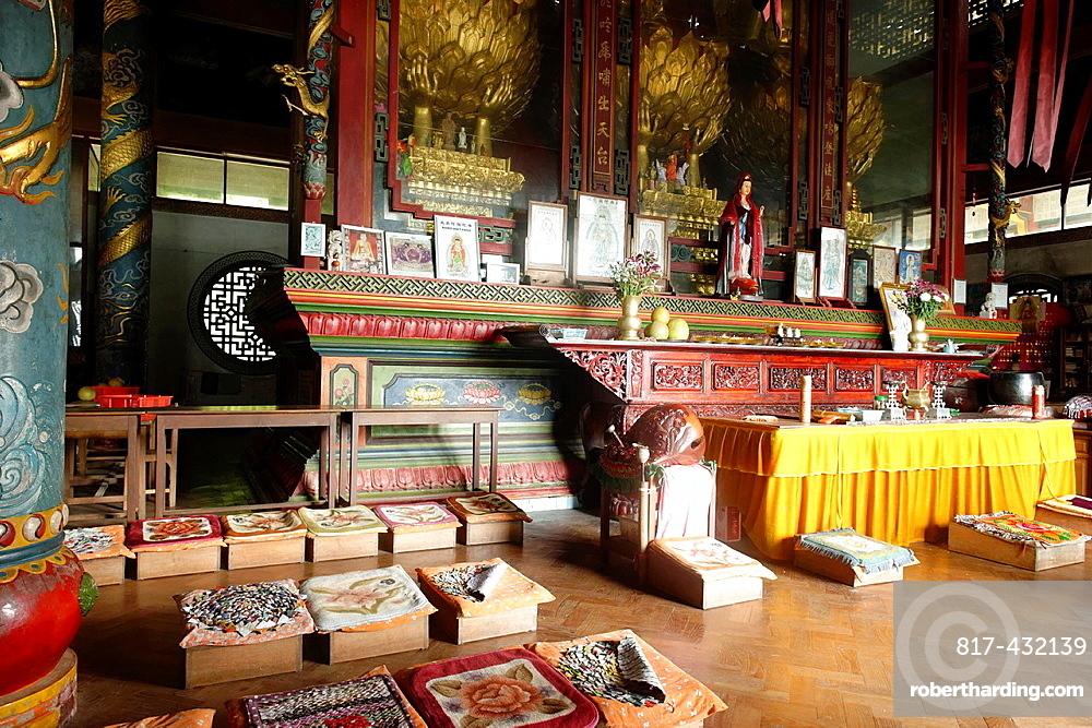 Quan Yin chinese temple Lashio Shan state Burma Republic of the Union of Myanmar.