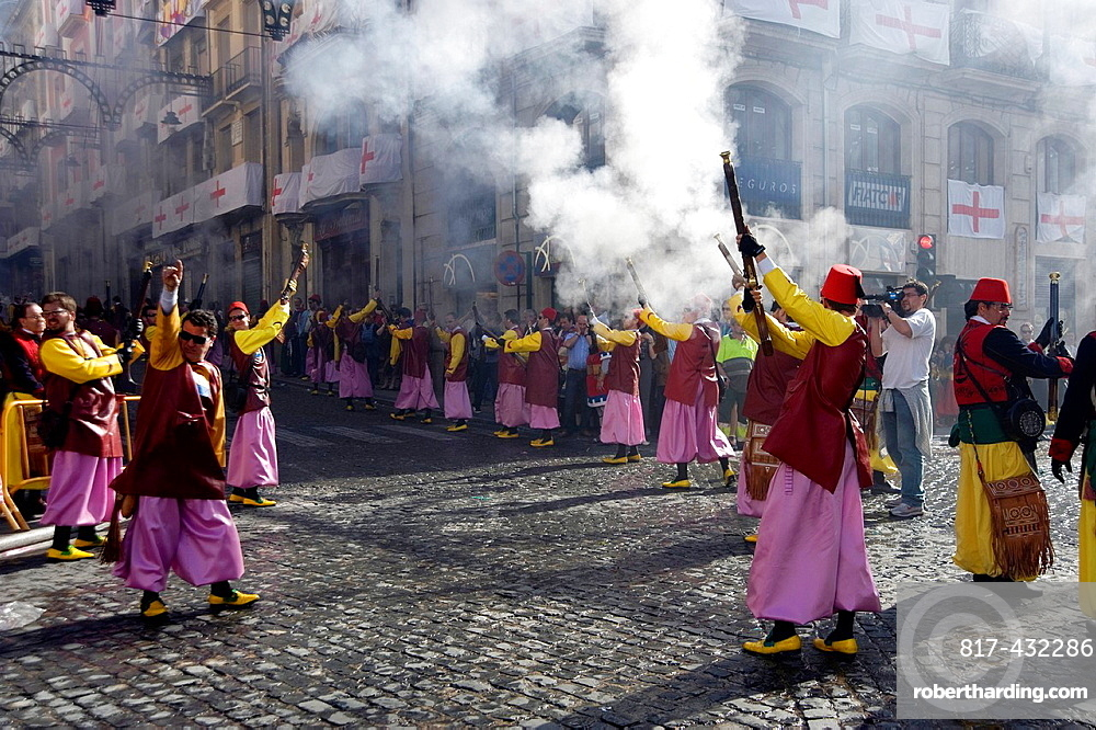 Moors and Christians Festival, Alcoy, Alicante, Spain