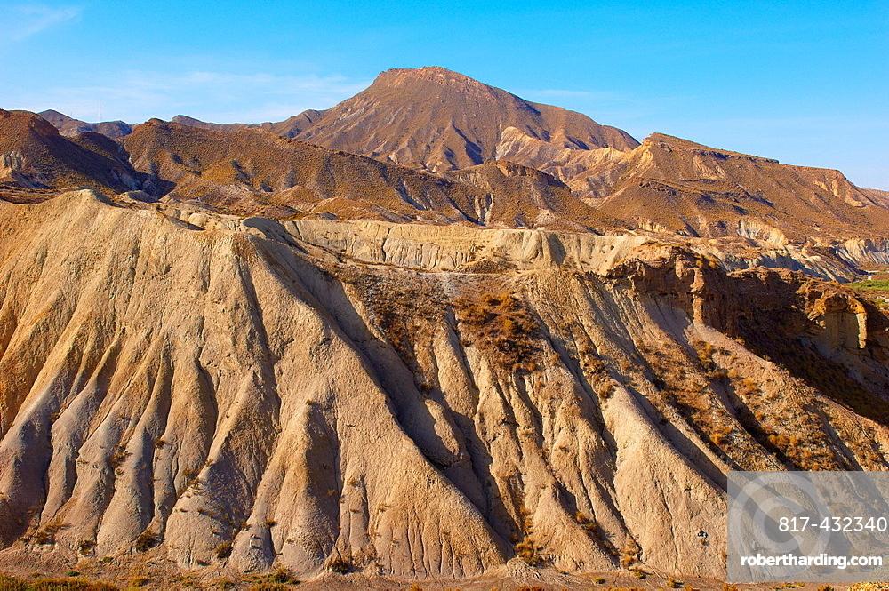 Tabernas Desert Natural Park, Tabernas, Almeria Province, Andalusia, Spain