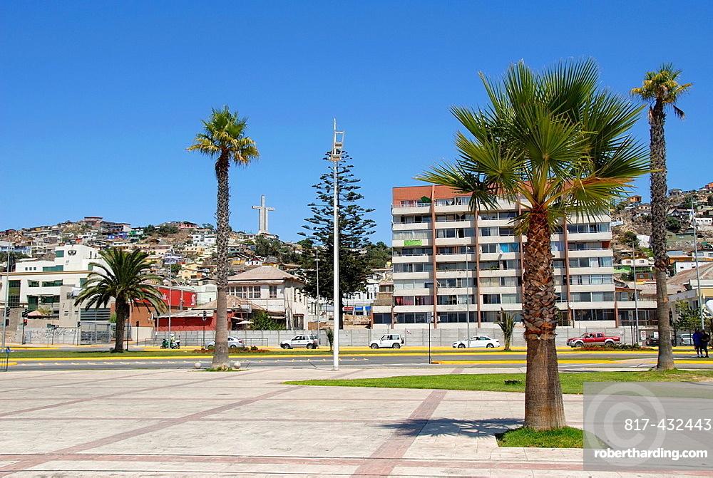 Coastal city of Coquimbo Chile
