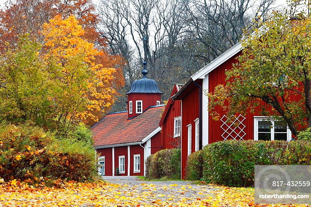 Vira bruk Uppland Sweden.