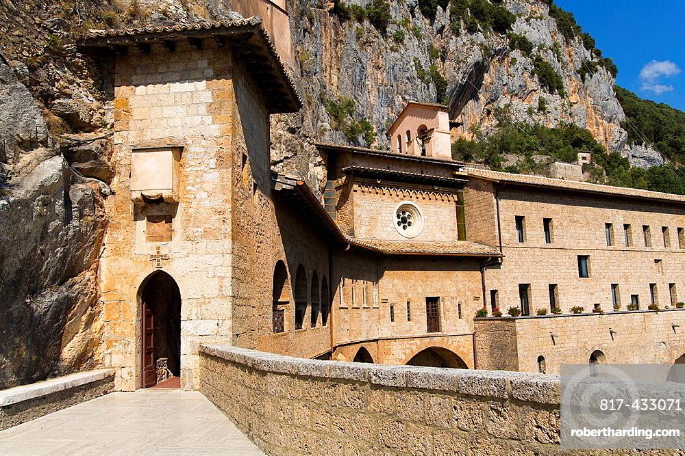 Monastery San Benedetto Sanctuary del Sacro Speco Subiaco Italy