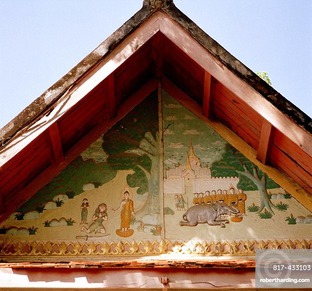 Wat Xieng Thong in Luang Prabang in Laos