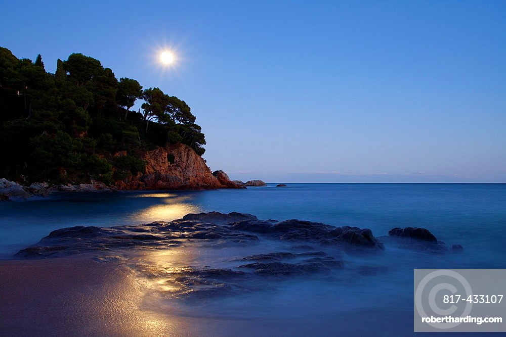 Sa Boadella beach, Lloret de Mar, Girona, Spain