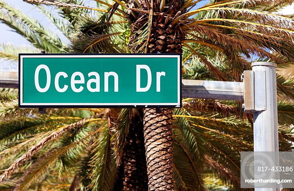 Ocean Drive, South Beach, Miami Beach, USA