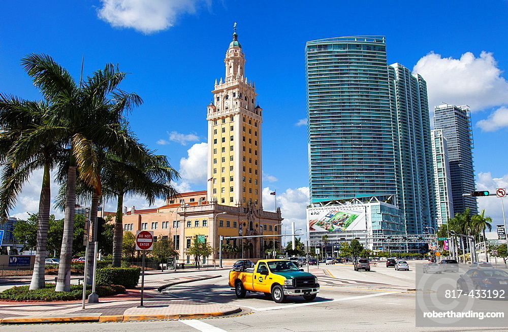 The Freedom Tower in Downtown Miami, USA