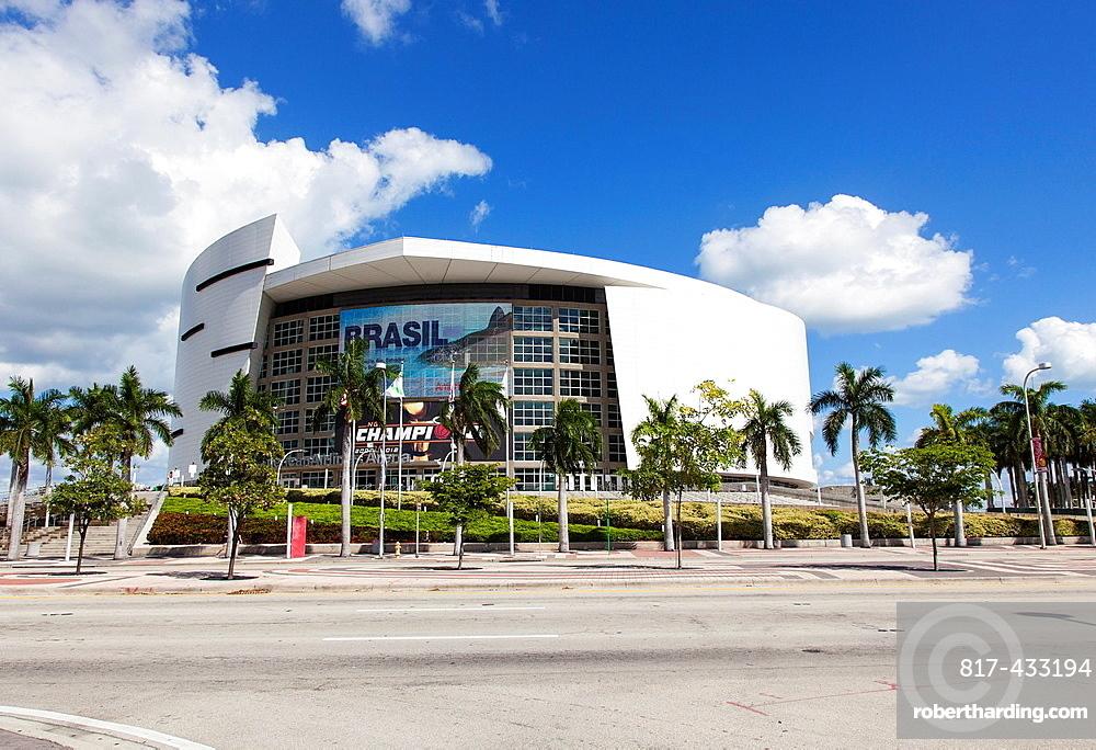 The American Airlines Arena, Miami, USA