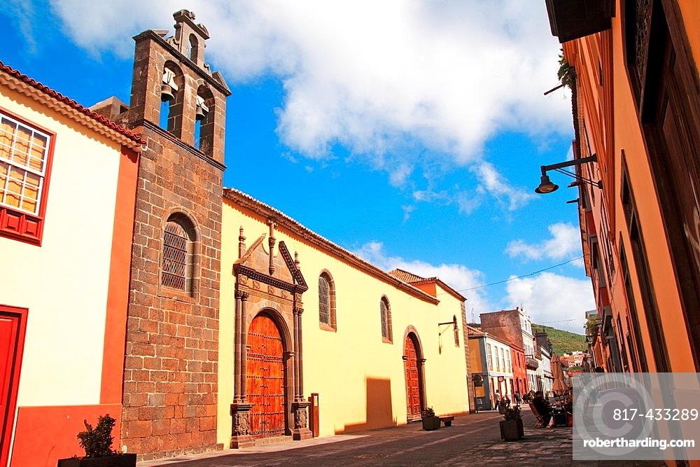 street view of San Cristobal de La Laguna municipality Tenerife island