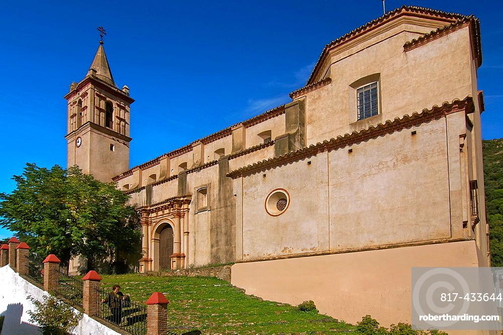 Church of San Juan Bautista, Linares de la Sierra, Huelva-province, Spain