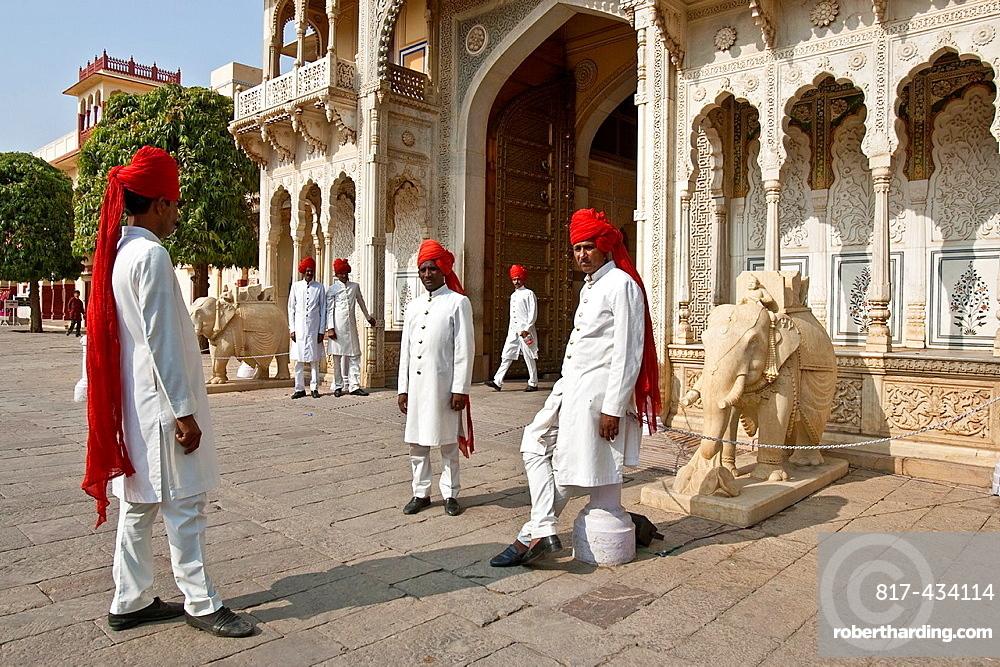 The City Palace, Jaipur, Rajasthan State, India