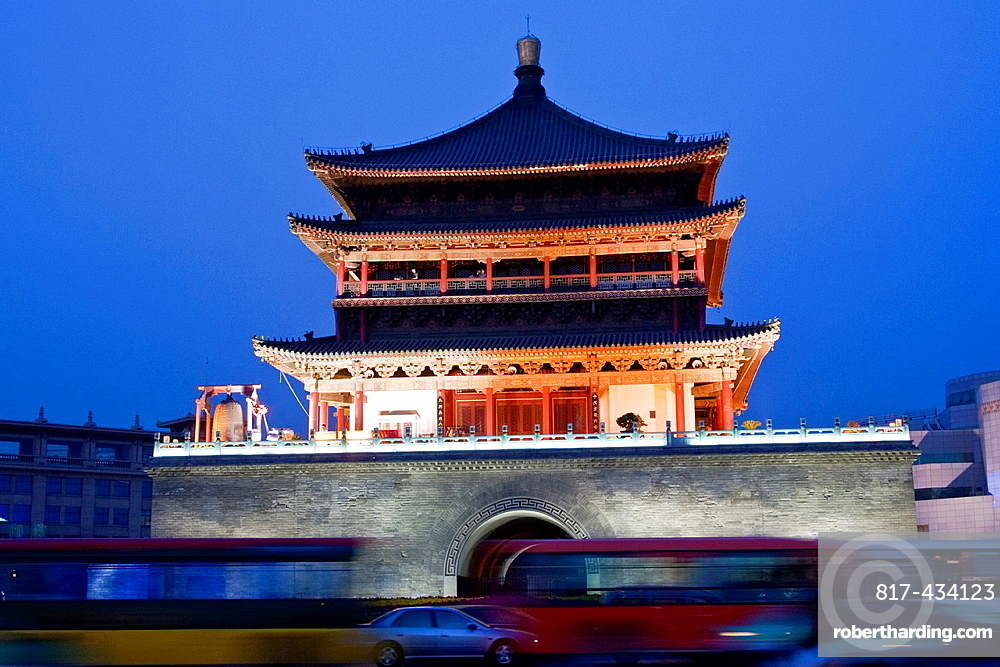 The Bell Tower, Xi'an, China