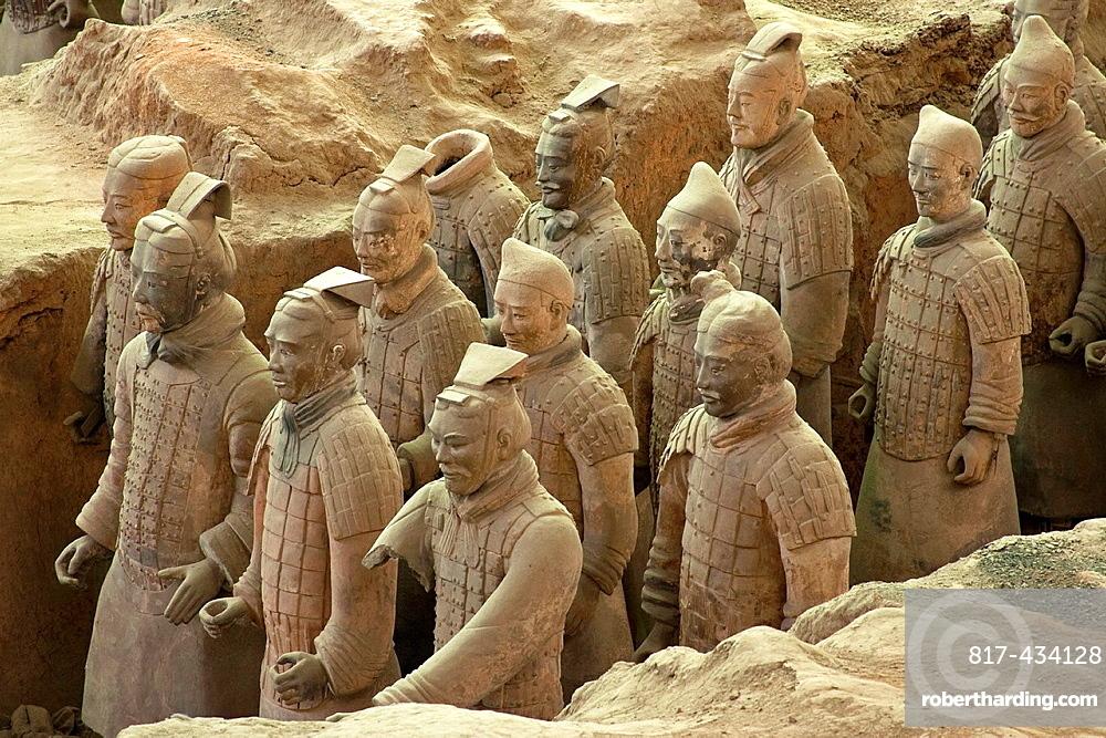 The Terracotta Warriors, Xi'an, China