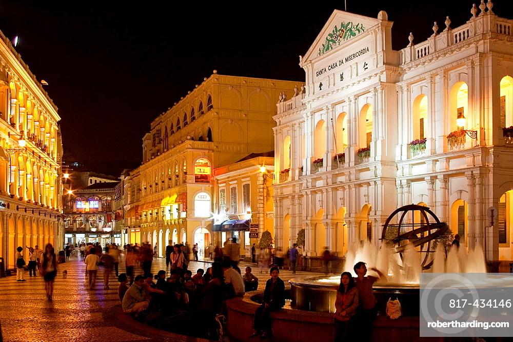 Largo Do Senado Senado Square , Macau , China